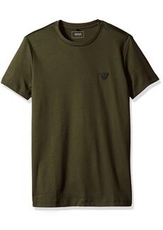 ARMANI JEANS Men's Cotton Jersey Small Eagle Logo Tshirt