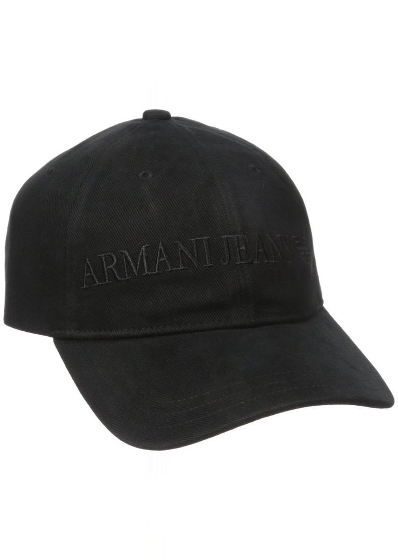 1be51148b051e9 On Sale today! Armani Armani Jeans Men's Cotton Logo Eagle Hat