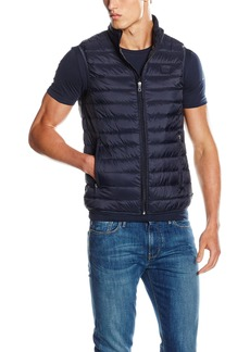 ARMANI JEANS Men's Packable Down Vest