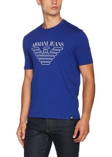 ARMANI JEANS Men's Tonal Eagle Logo T-Shirt
