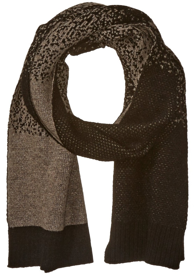Armani Jeans Men's Wool Blend Knit Speckled Scarf  One Size