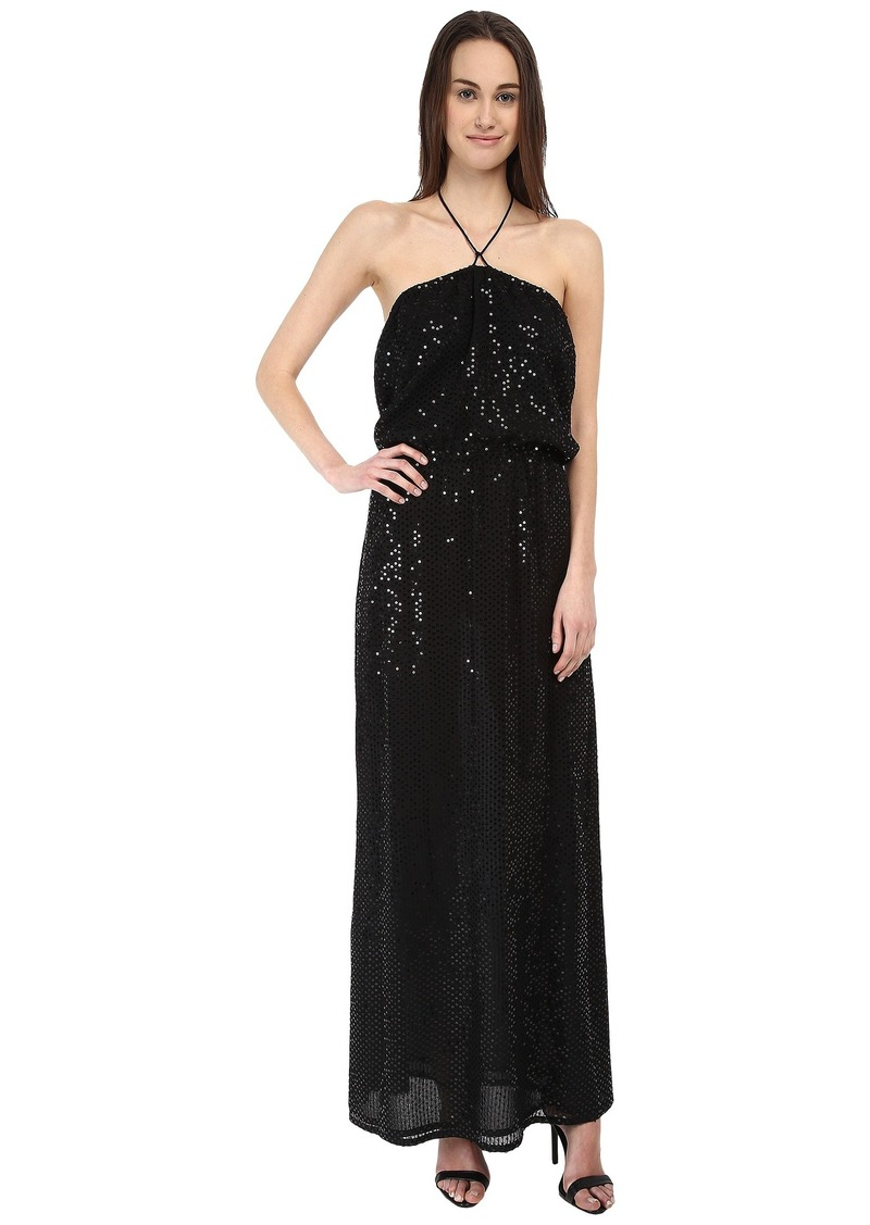 Armani Jeans Sequin Maxi Dress