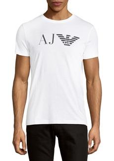Armani Jeans Short Sleeve Cotton Tee