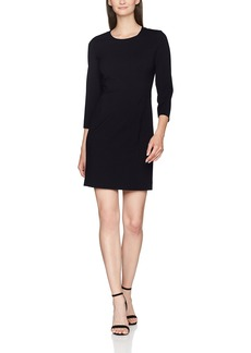 ARMANI JEANS Women's Above The Knee 3/4 Sleeve Dress