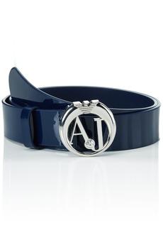 Armani Jeans Women's Aj Buckle Belt  XL