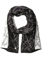 Armani Jeans Women's All Over Hearts Scarf