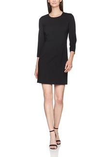 ARMANI JEANS Women's Classic 3/4 Sleeve Dress