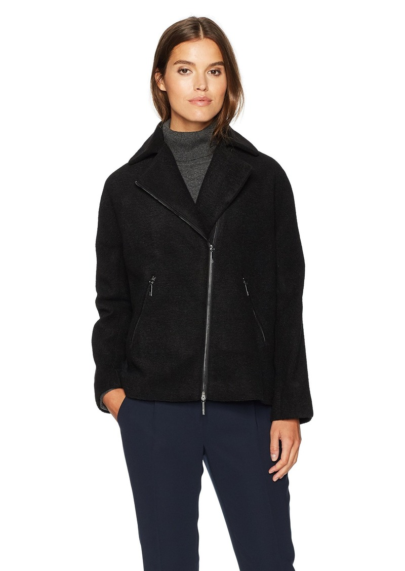 ARMANI JEANS Women's Lana Poly Jacquard Jacket