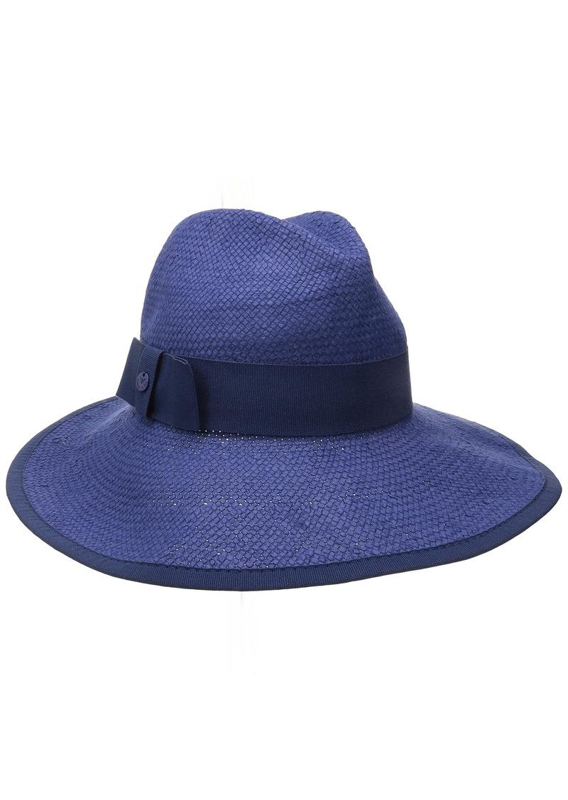 4a1c3796cba Armani Armani Jeans Women s Raffia Woven Wide Brim Sun Hat