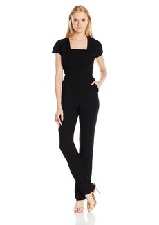 ARMANI JEANS Women's Short Sleeve Tube Insert Jumpsuit