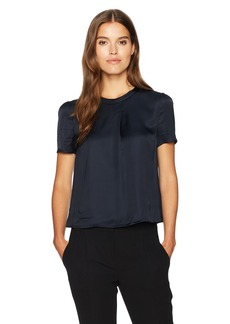 ARMANI JEANS Women's Side Overlay Blouse