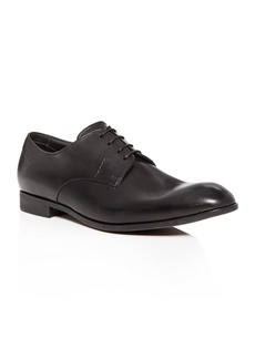 Armani Men's Leather Plain Toe Oxfords