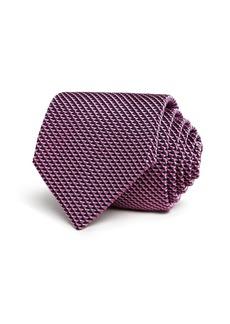 Armani Triangle Geometric Neat Classic Tie