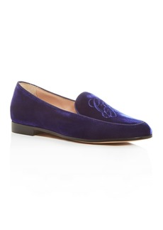 Armani Women's Apron-Toe Loafers