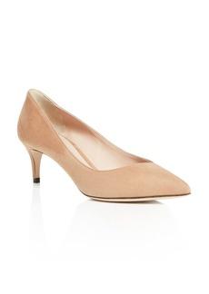 Armani Women's Decolette Kitten-Heel Pumps