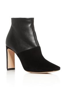 Armani Women's Square-Toe Block-Heel Booties - 100% Exclusive