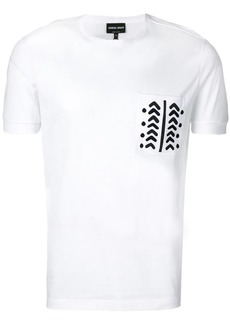 Armani arrows print T-shirt