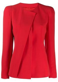 Armani asymmetric blazer