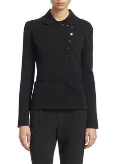 Armani Asymmetric Ottoman Jacket