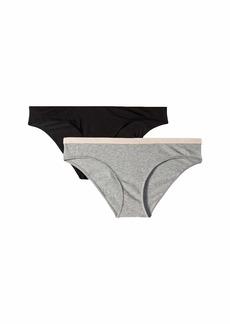Armani Basic Cotton 2-Pack Bikini