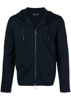 Armani basic hooded jacket
