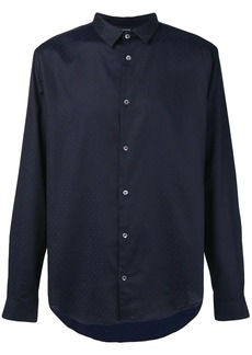 Armani basic patterned shirt