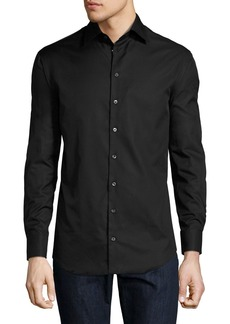 Armani Basic Sport Shirt  Black