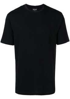 Armani basic textured T-shirt