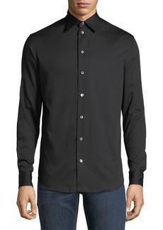 Armani Basic Woven Sport Shirt