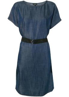 Armani belted denim dress
