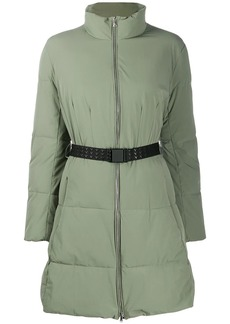 Armani belted puffer jacket