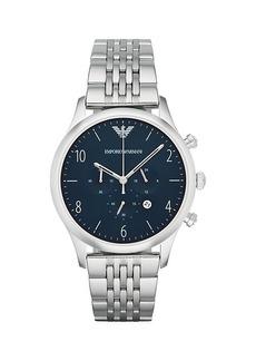 Armani Beta Stainless Steel Chronograph Watch