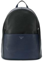 Armani bicolour backpack