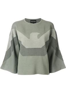 Armani blended logo sweater