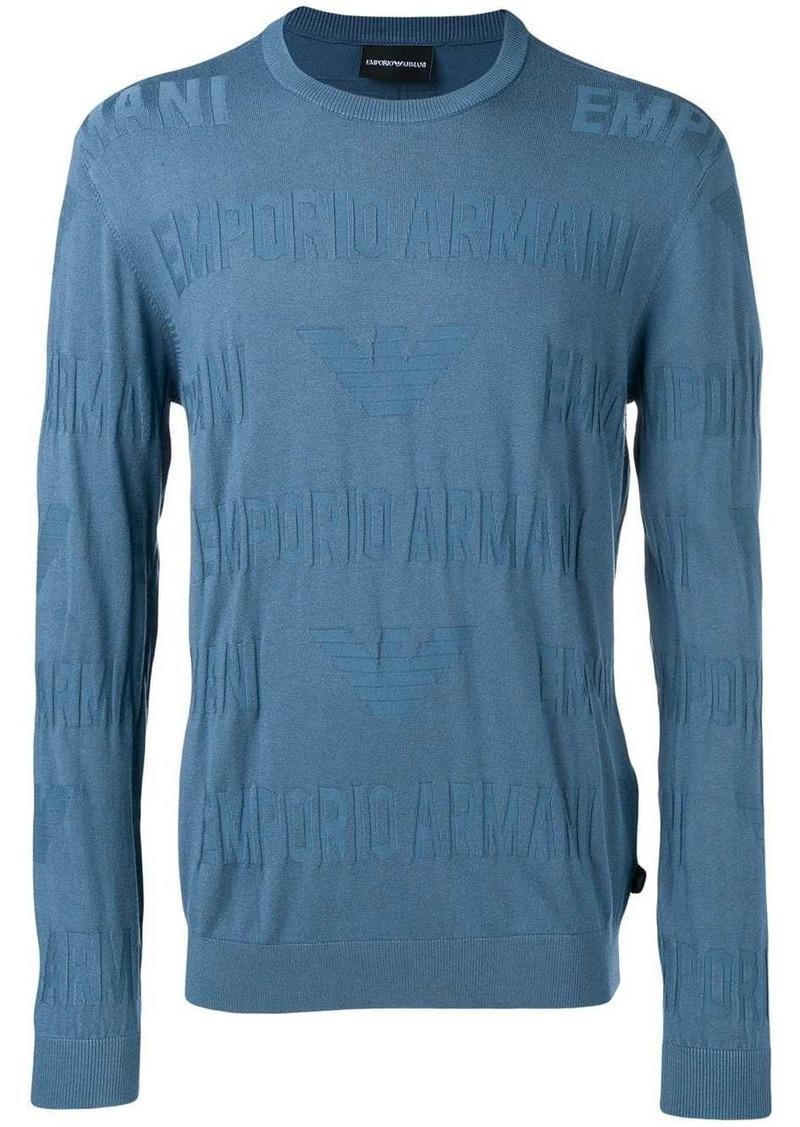 Armani blue lightweight sweater