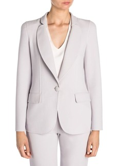 Armani Bonded Jersey One-Button Blazer
