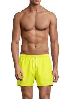 Armani Boxer-Style Swim Trunks
