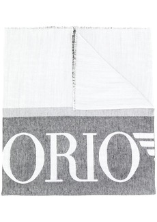 Armani brand knitted scarf