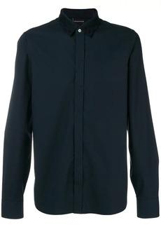 Armani branded collar shirt