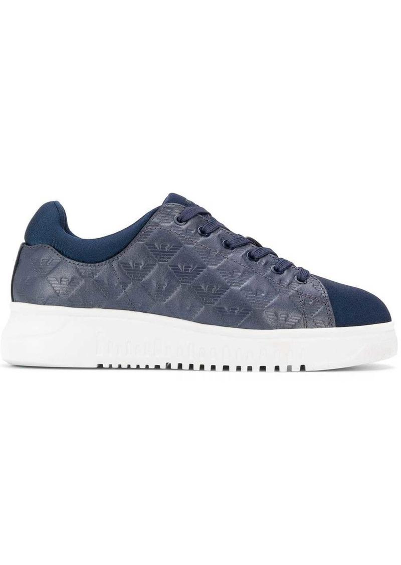 Armani branded detail sneakers