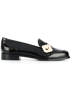 Armani buckled loafers