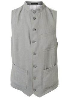 Armani button-up waistcoat