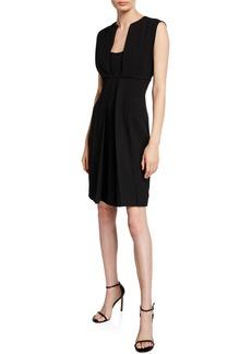 Armani Cady A-Line Dress
