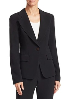 Armani Cady Tailored Blazer