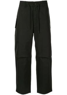 Armani cargo drawstring trousers
