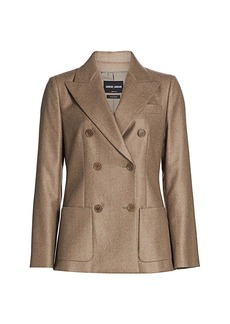Armani Cashmere Double Breasted Jacket