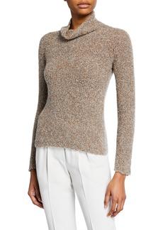 Armani Cashmere Silk Waffle-Stitch Sweater