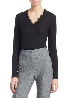 Armani Cashmere V-Neck Top