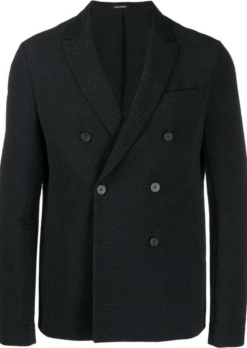 Armani casual double-breast blazer
