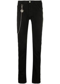 Armani chain detail jeans